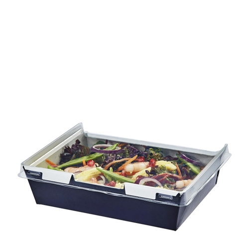 Colpac Combione Food Container 170 x 127 x 52mm Black