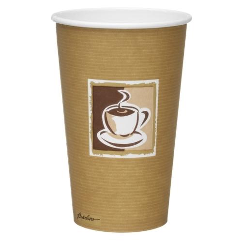 Benders Caffe Premium Hot Cup 12oz Brown