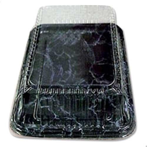Sabert PET Domed Lid to fit 46.0cm x 30.0cm Platter Clear Plastic