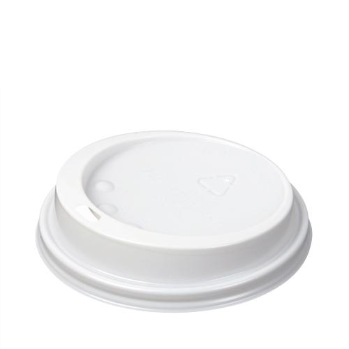 Huhtamaki Domed Hot Cup Lid 12/14/16oz White