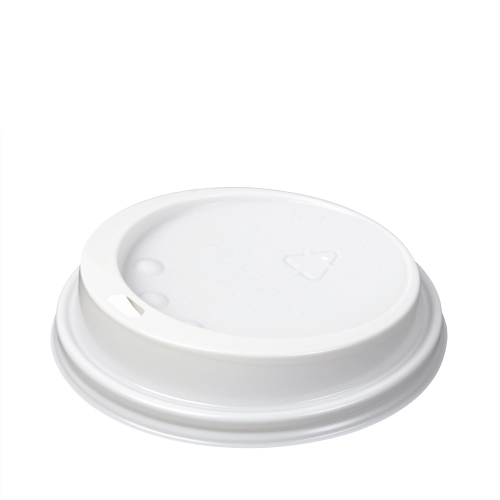Benders Domed Hot Cup Lid 8/9/10oz  White