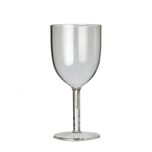 Plastico Celebrity  Polycarbonate Wine Glass Triple Lined 125ml, 175ml & 250ml LCE Clear