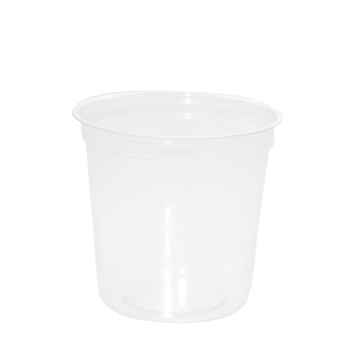 Round Deli Pot 470ml Clear