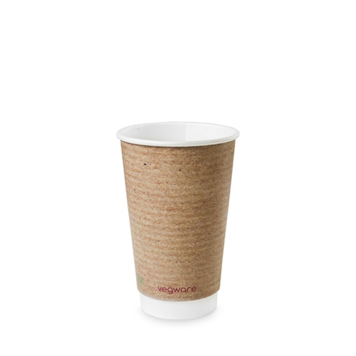 Kraft Double Wall Hot Cup