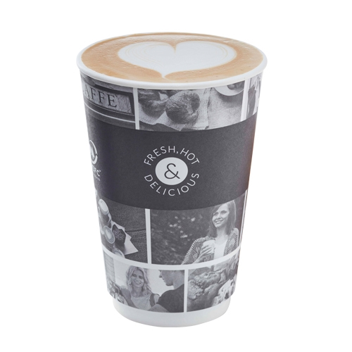 Cafe Life Smooth Double Wall Hot Cup