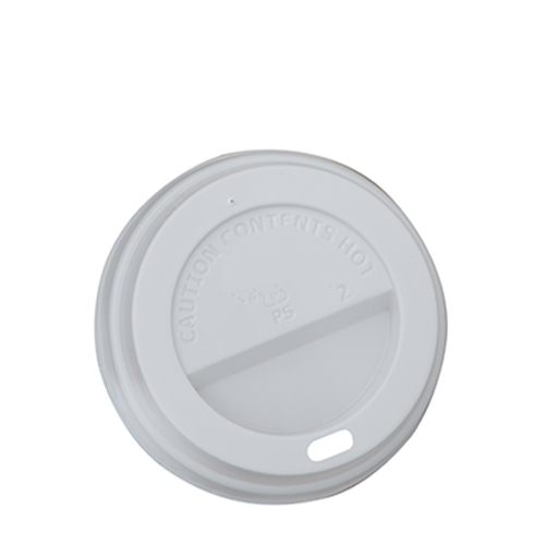 Sip Thru  Hot Cup Lids 12/16oz  White