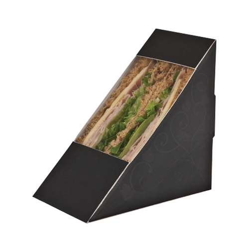 Colpac Elegance  Sandwich Wedge 123x72x123mm Black