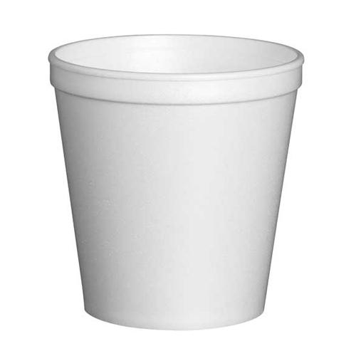 Solo EPS Insul Foam Container 16oz White