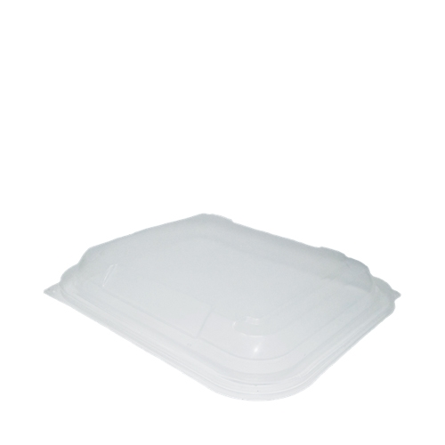 Faerch Hot Deli Rectangular Domed Lid (to fit 650/1000ml Containers)