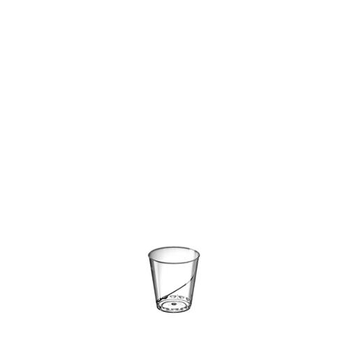 Plastic Shot Glass 1oz Clear