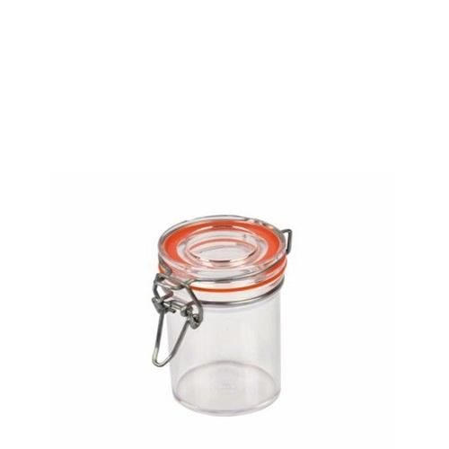 Plastic Flip Top Preserve Pot