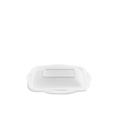 Vegware Gourmet Bagasse Lid Size 3 16-22oz White