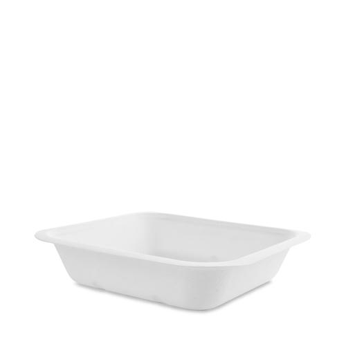 Vegware Gourmet Bagasse Base Size 4 22oz White