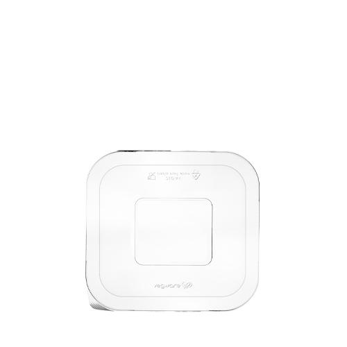 Vegware Gourmet  PLA Window Lid Size 4 22-32oz Clear