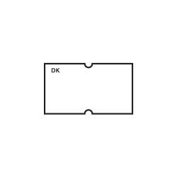 Plain Gun Label 1.2 x 2.2cm White