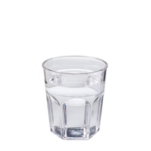 Plastico Celebrity Polycarbonate  Rocks Glass 9oz Clear