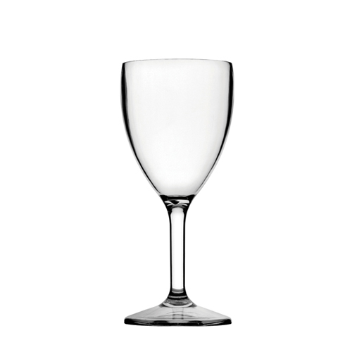 Utopia Diamond  Polycarbonate Wine Glass 9oz LCE@175ml Clear