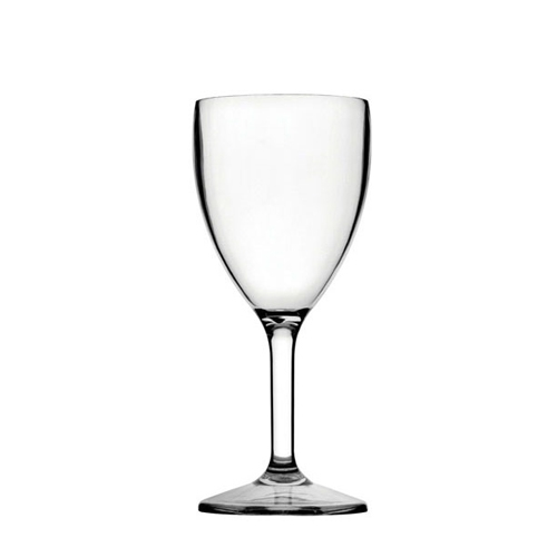 Utopia Diamond  Polycarbonate Wine Goblet 12oz (34cl) LCE @ 250ml Clear