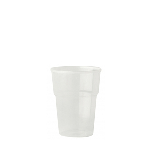 Katerglass Polypropelene Half Pint Glass to Line 12oz LCE @ 10oz Opaque