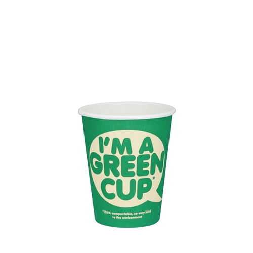 Biopac 'I'm A Green Cup' Single Wall Hot Cup 12oz
