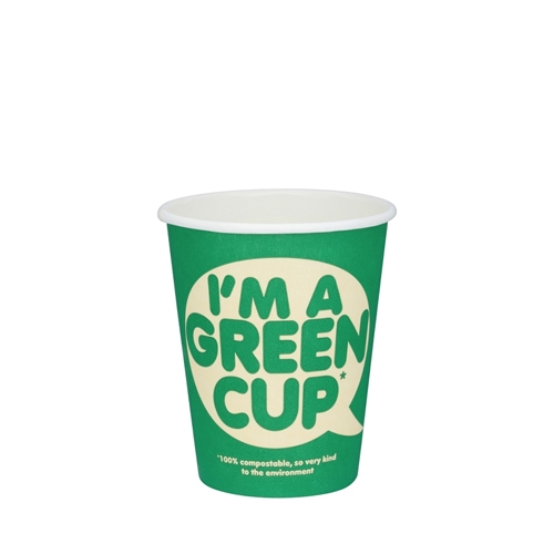 Biopac 'I'm A Green Cup' Single Wall Hot Cup 16oz