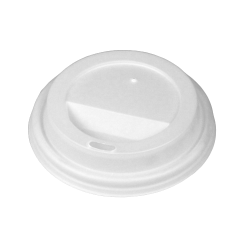 Biopac Compostable Domed Hot Cup Lid 8oz White