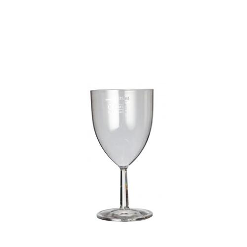 Plastico Clarity  Reusable Wine Glass 7oz Clear