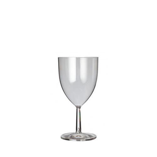 Plastico Clarity Reusable Wine Glass 7oz/19.8cl Clear