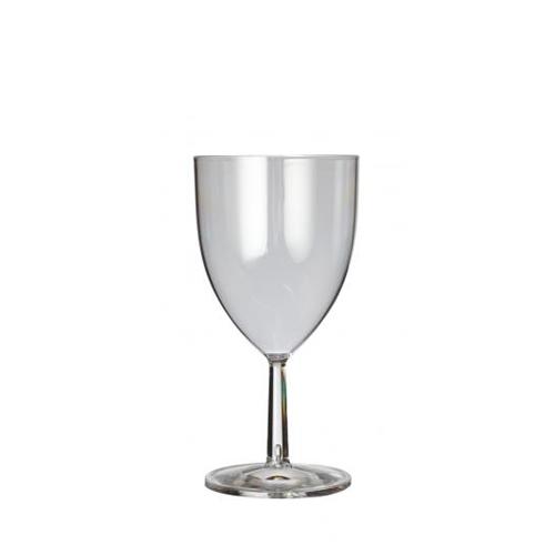 Plastico Clarity Reusable Wine Glass 10.5oz Clear