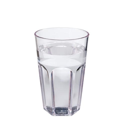 Plastico Celebrity Polycarbonate Tall Tumbler 12oz Clear