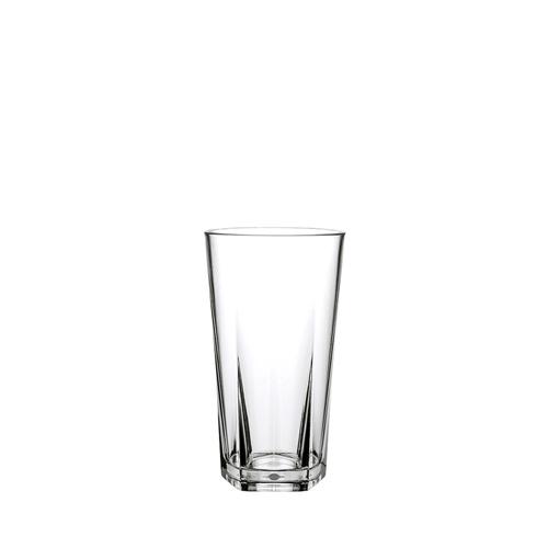 Utopia Pentagon  Polycarbonate Hiball Glass 12oz Clear