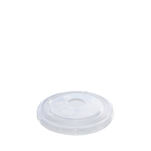 rPET Flat Lid With No Hole 45.5-56.8cl Clear