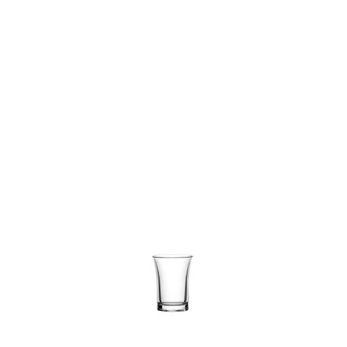 Utopia Econ Crystal  Polystyrene Shot Glass 1oz Clear