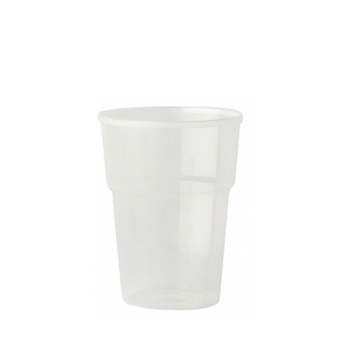 Katerglass Polypropelene Pint Glass to Brim 20oz CE Brim Opaque