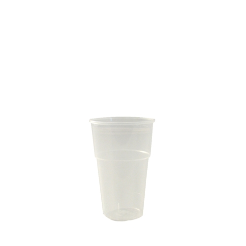 Katerglass Polypropelene Half Pint Glass to Brim 10oz CE Brim Opaque