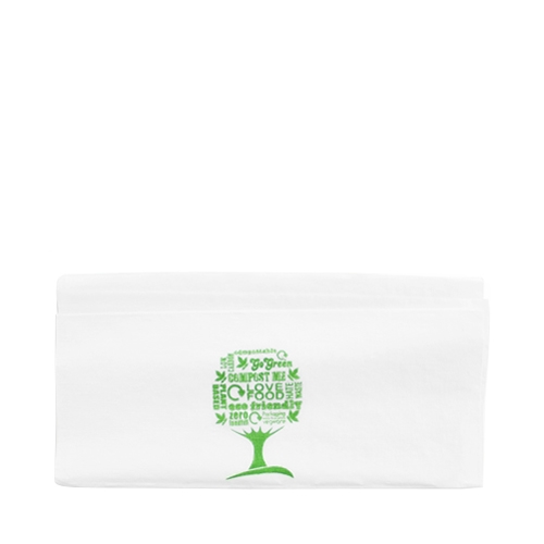 Vegware Dispenser Napkin 1 Ply 320 x 300mm White