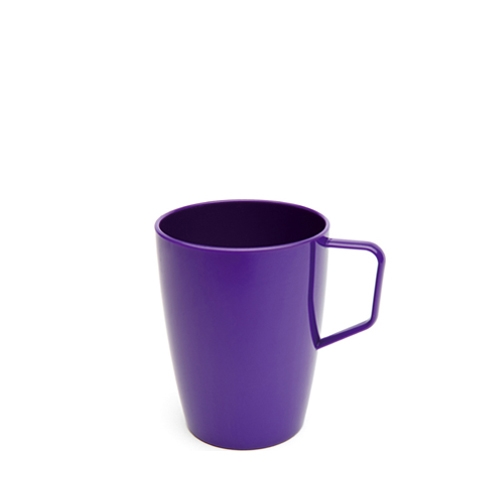 Harfield Polycarbonate Beaker with Handle 25cl Purple