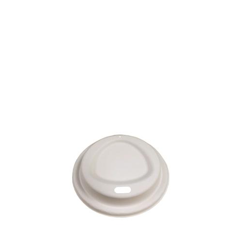 Bagasse Lid for DHBC0001/3 80mm Natural
