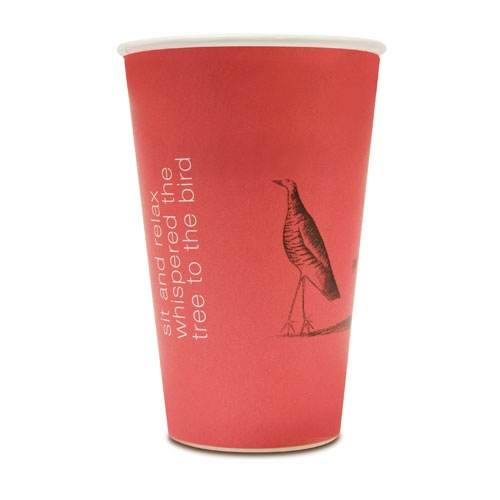 Benders Cantare  Super Insulated Hot Cup 16oz Red