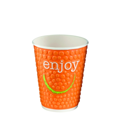 Enjoy Embossed Double Wall Hot Cup