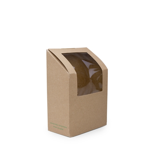 Vegware Kraft Wrap Carton Brown