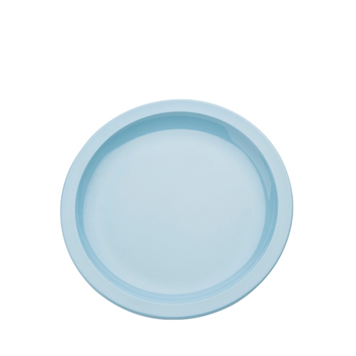 Harfield Polycarbonate Large Narrow Rimmed Plate 23cm Summer Blue