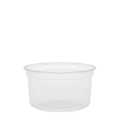 Celebration  Microwaveable Deli Container 16oz  Clear