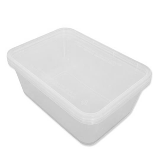 Microwavable  Container & Lid 35oz Clear