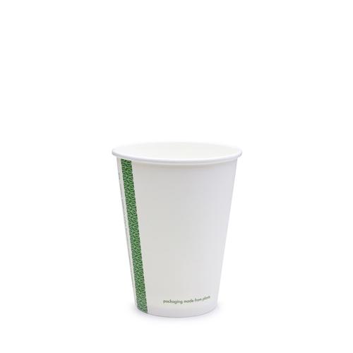 Vegware Single Wall Hot Cup 12oz White