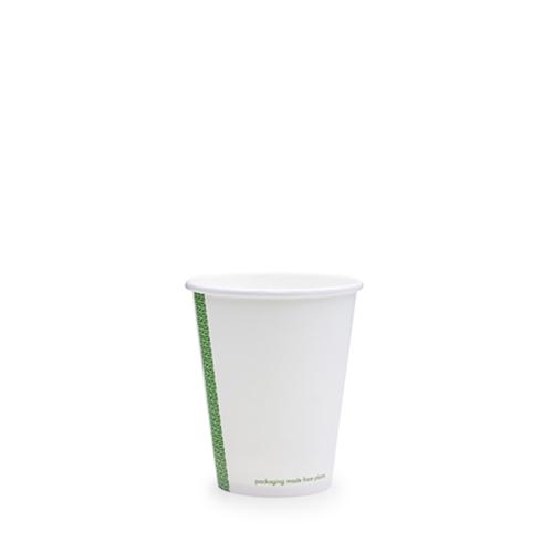 Vegware Single Wall Hot Cup 8oz White