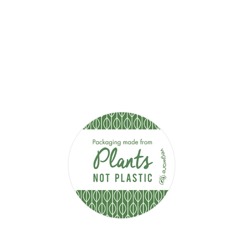 Compostable Sticker 4.5cm Green