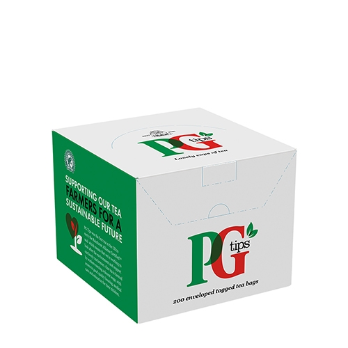 PG Tips Enveloped Tagged Tea Bags 200 Envelopes