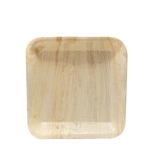 Cuadra Palm Leaf  Square Plate 9.4