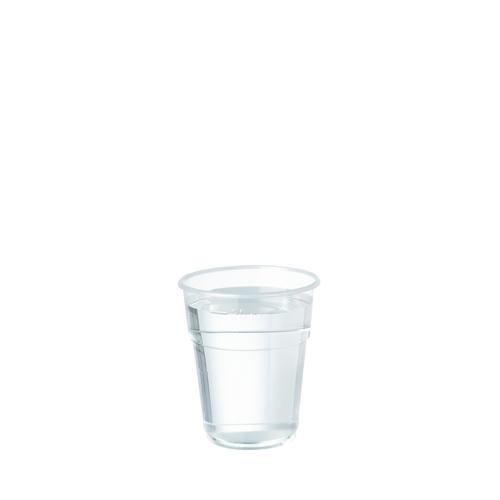 Plastico Flexy-Glass Polypropylene Tumbler to Line 8oz LCE 7oz Clear